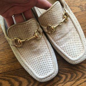 Gucci Horsebit Suede Loafer